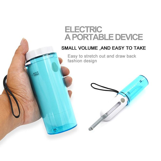Perfect Solution for When Youre On the Go Palm Battery Bidets Included USB Charger Handy Portable Travel Bidet Hibbent Handheld Travel Electric Portable Bidet