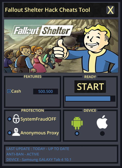 Image result for Fallout Shelter Hack Cheats