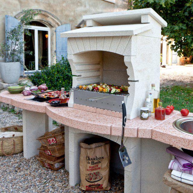 Cuisine extérieure  notre sélection Balconies and Decoration - photo cuisine exterieure jardin
