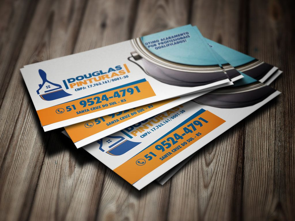 Douglas Painter Business Card by farlei on deviantART | Commercial ...