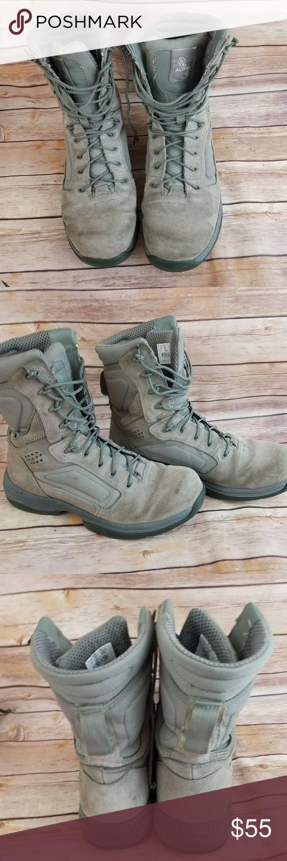 Altama Sage Green Military Combat Boots Combat Boots Combat Boots Men Boots