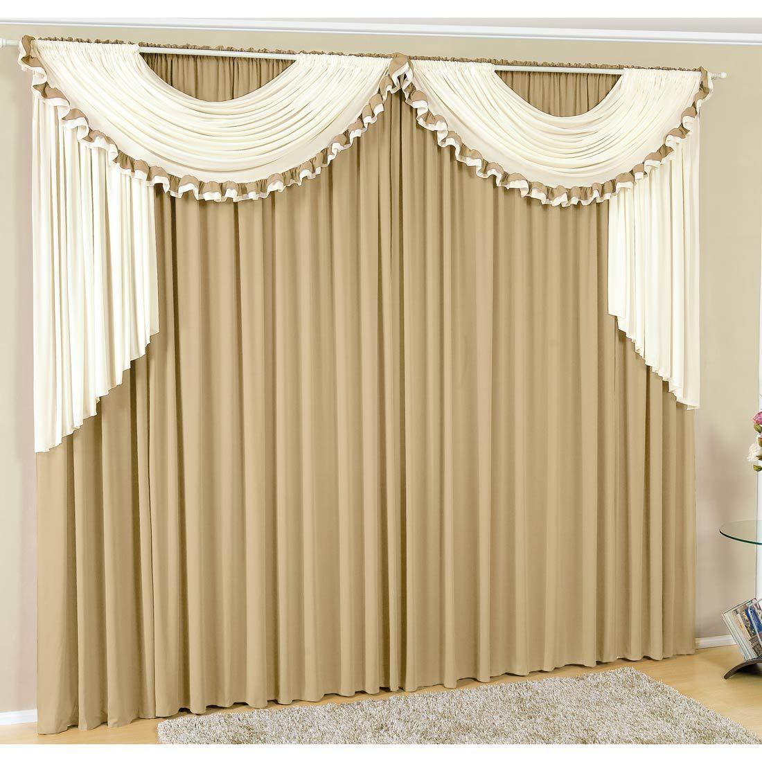 Cortina gisele 2 metros x 1 60 metros alt tecido malha for Anillas con pinza para cortinas