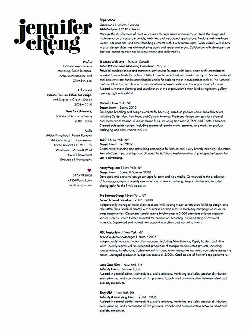 20 Graphic Design Intern Resume Graphic Design Resume Creative