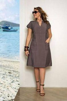 Moda Casual Para Rellenitas Aquimoda Com Vestidos De Boda Vestidos Baratos Vestido Para Gorditas Moda Ropa