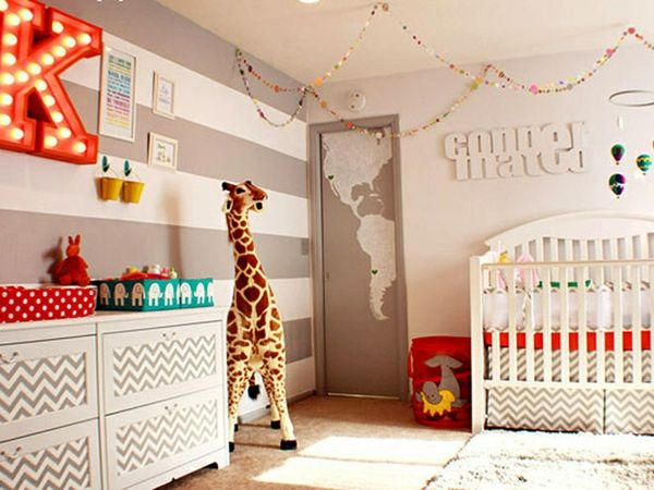 Luxurious modern girls nursery decor nursery kinderkamer