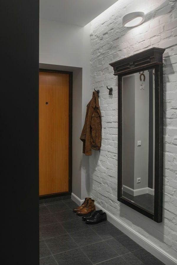23 Super Ideen für kreative Wandgestaltung im Hausflur Wohnen - wandputz innen ideen