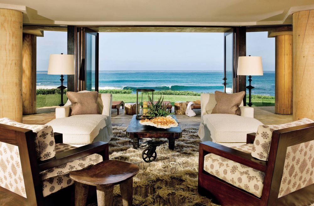 Beach Living Room By London Boone And Tim Martin In La Jolla, California