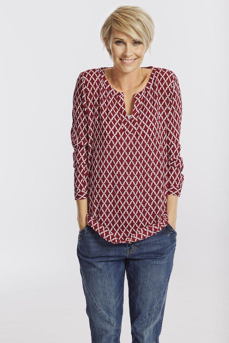 Alice blouse schöne Bluse | schnittmuster - nähen für die