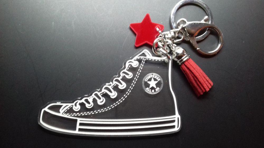 porta chiavi converse