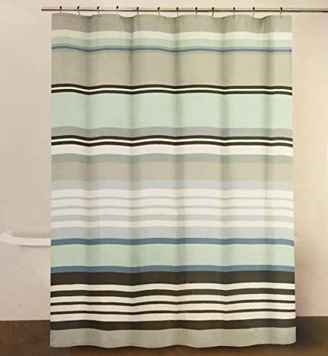 Dkny Urban Lines Periwinkle Luxury Fabric Shower Curtain You Can