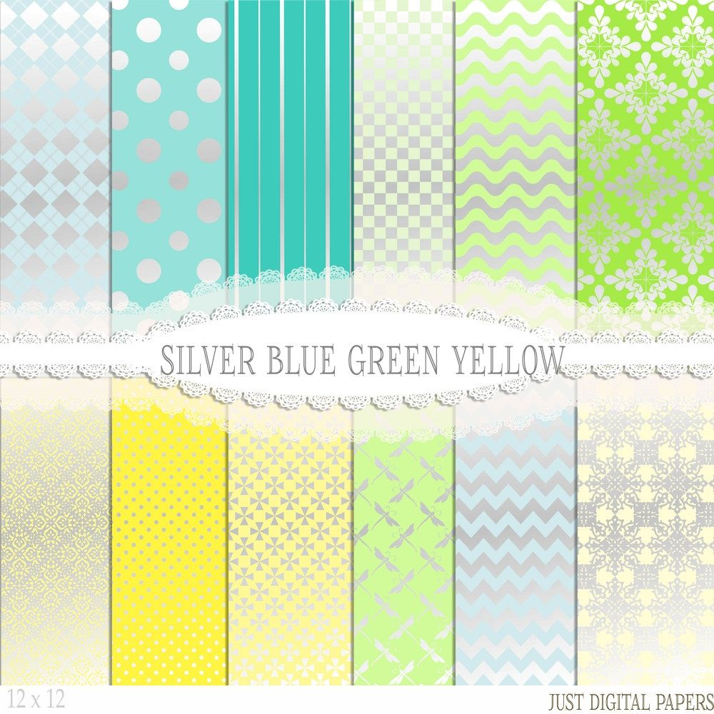 picture relating to Printable Foil Paper referred to as Silver Foil Papers with Blue, Environmentally friendly and Yellow Electronic