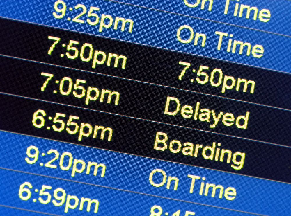 The Airline Changed My Flight Time Is That Even Legal