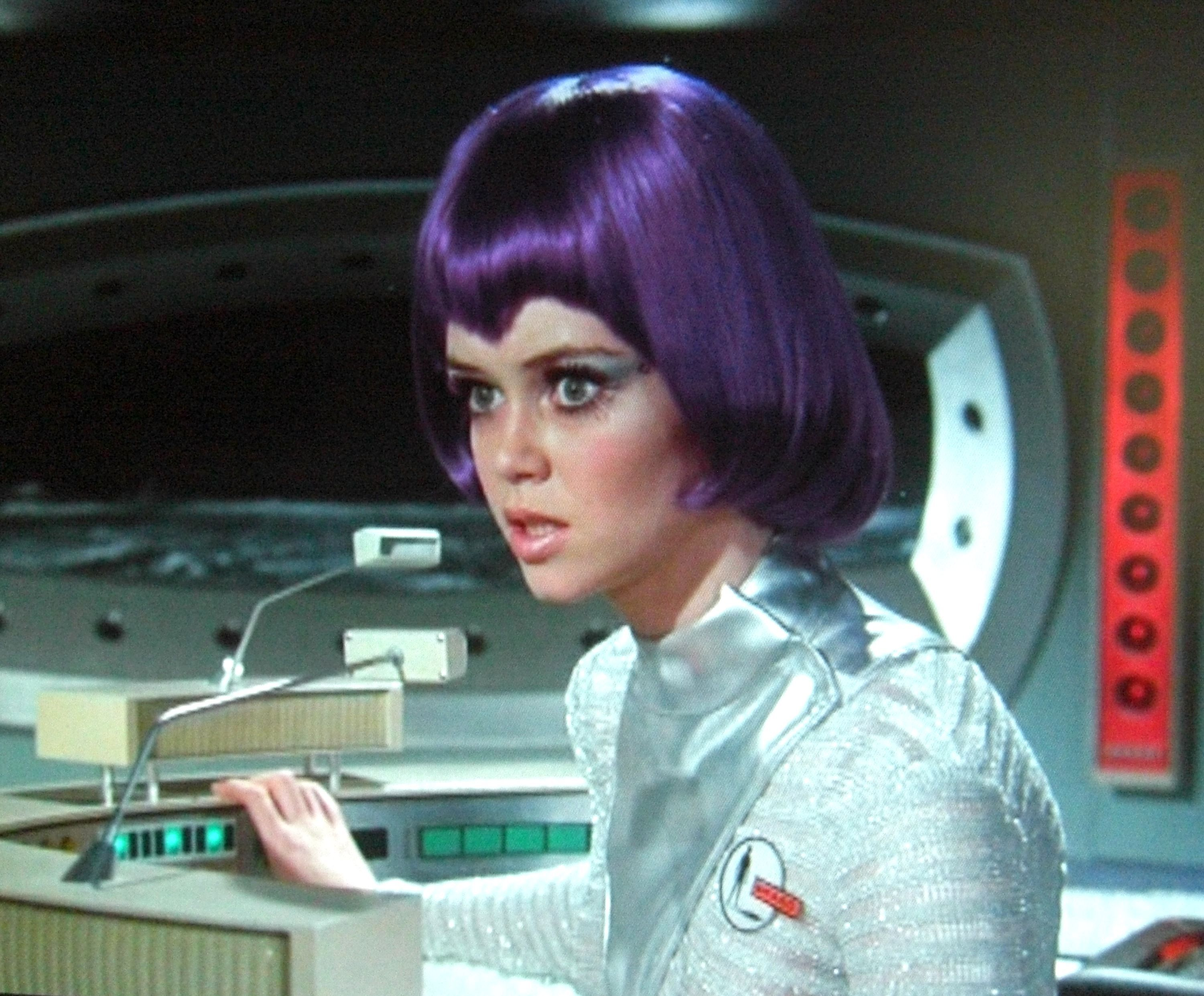 "pimpandhost.com UFO 01 ♣Gabrielle Drake.from ""UFO"" the Katy Perry of outer space!"