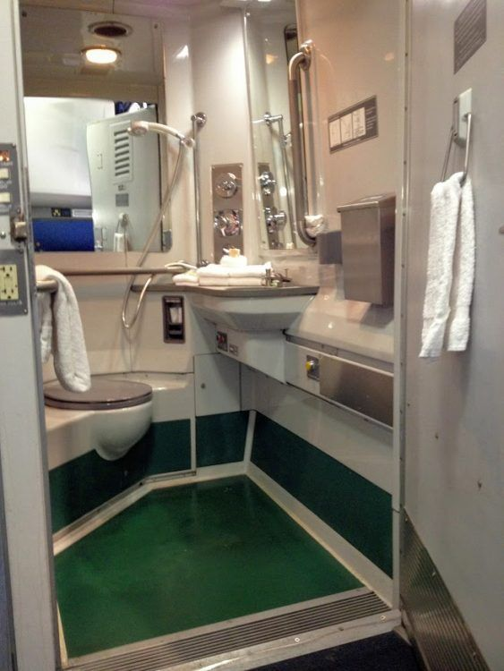 All About Amtrak Sleeping Accommodations Overnight Trains Superliner - Bathrooms on amtrak trains