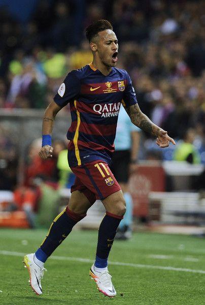 Barcelona V Sevilla Copa Del Rey Final Futebol Neymar Sobre