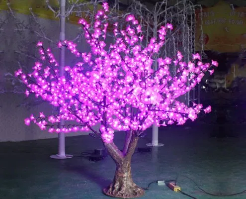 Indoor Decorative Pink Led Blossom Tree For Sale Cherry Blossom Decor Blossom Trees Cherry Blossom Light Tree
