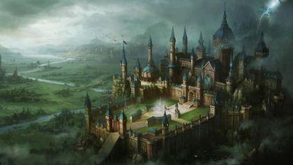 castles fantasy art artwork 1920x1080 wallpaper Art HD Wallpaper ...