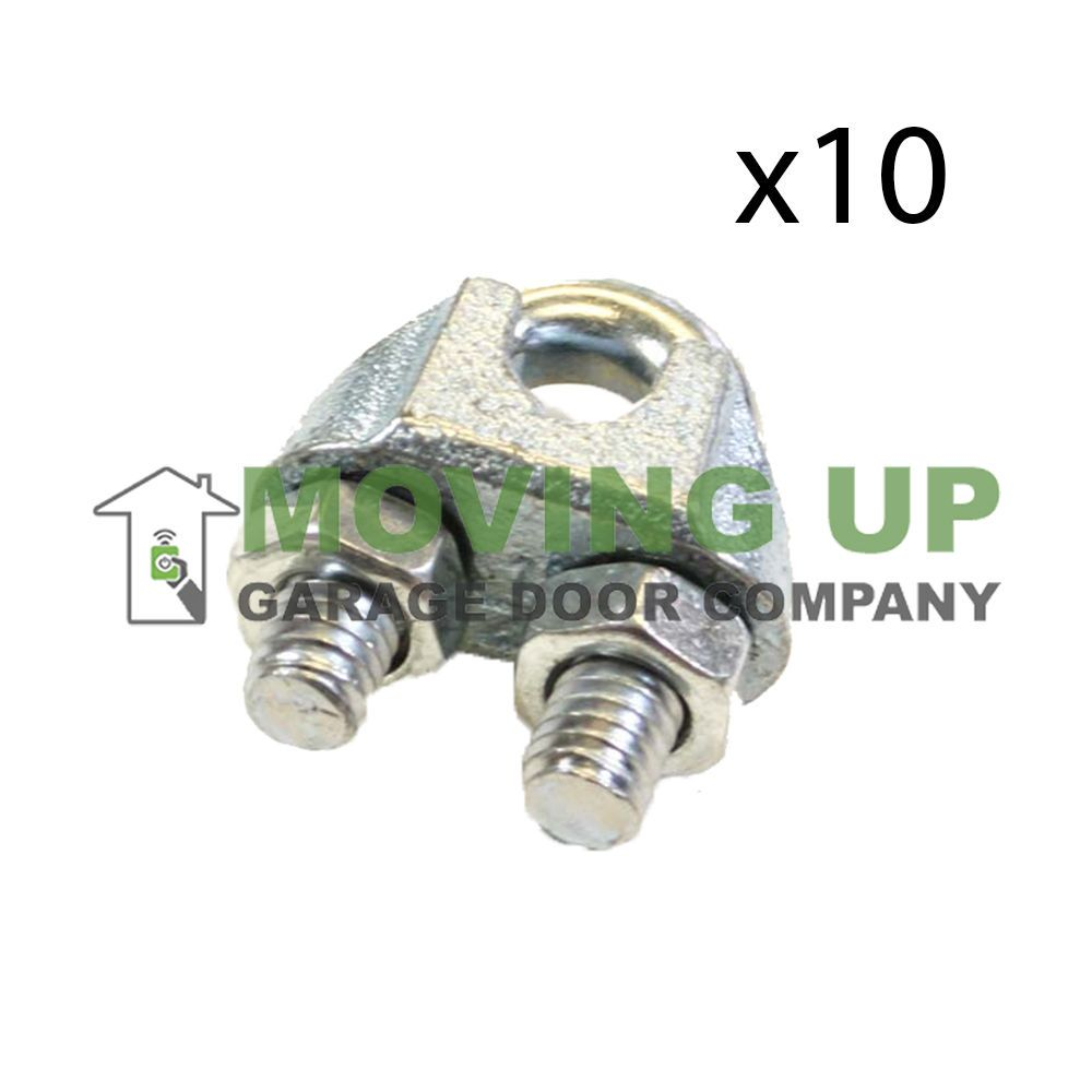 Details About Aluminum Cable Clamps 1 4 Lot Of 10 Aircraft Cable Galvanized Garage Door Company Ebay Cable