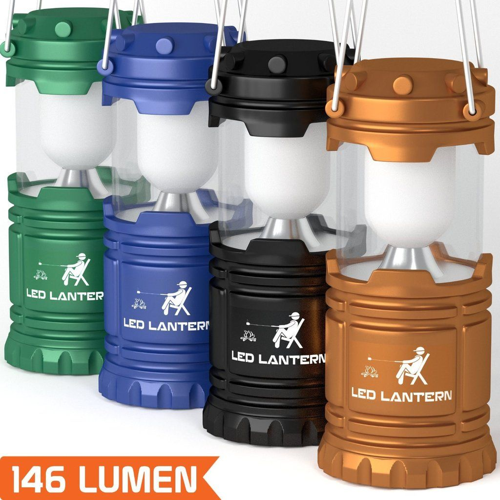 Pack Led Camping Lantern Flashlights Hurricane Emergency Tent Light Backng Hiking Fishing And Outdoor Lighting Bug Out Bag Equipment