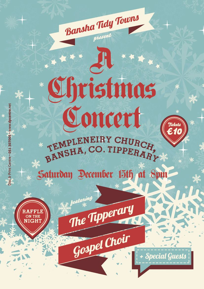 tickets for bansha tidy towns  u0026 39 a christmas concert
