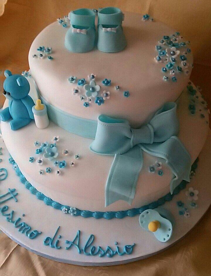 Torta battesimo bimbo le mie torte in pdz pinterest - Decorazioni battesimo bimbo ...