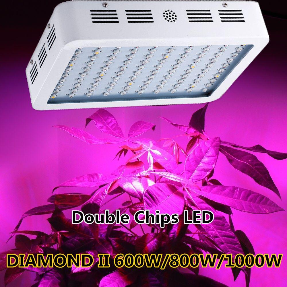 Diamond ii 600w 800w 1000w 1200w 1600w double chip led grow light diamond ii 600w 800w 1000w 1200w 1600w double chip led grow light full spectrum red parisarafo Gallery