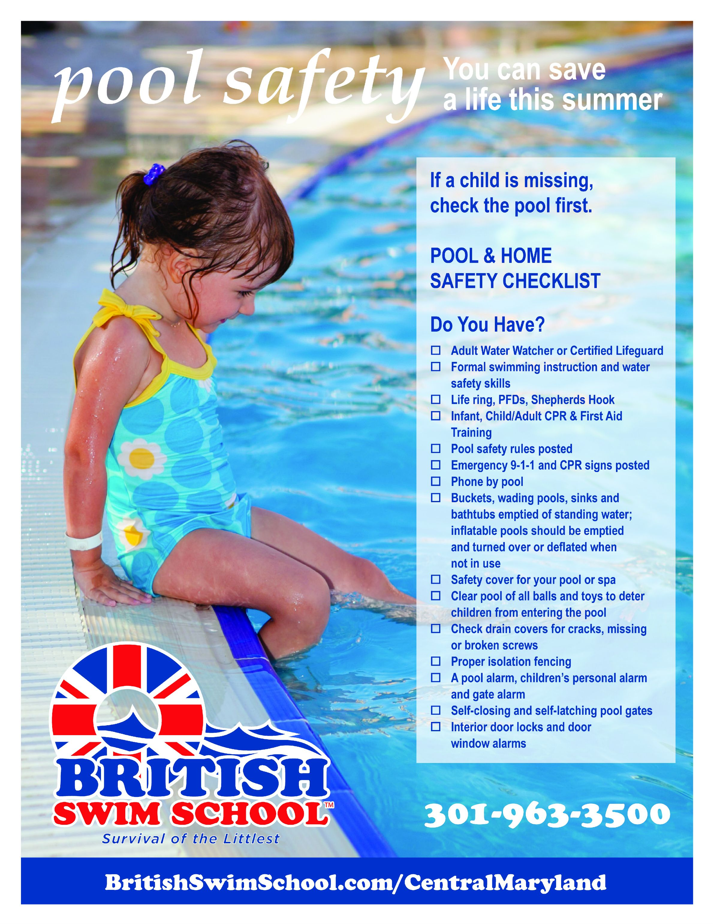 Save A Life This Summer With These Pool Safety Tips From