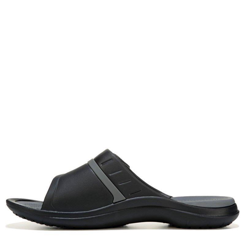a815edcc9 Crocs Men s Modi Sport Slide Sandals (Black Graphite) - 11.0 M