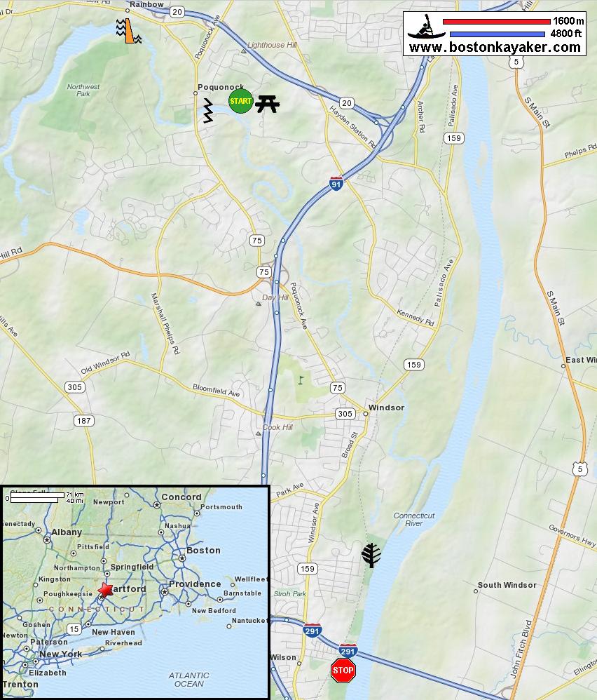 Farmington River - in Windsor CT