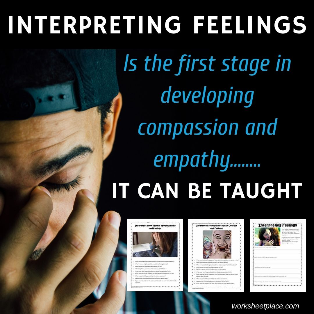 Feelings Worksheets And Teaching Resources To Help With