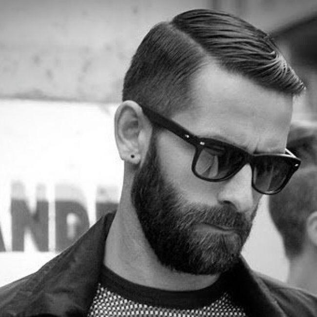 Beard Slick Hair Herrenfrisuren Klassische Herrenfrisuren Mannerhaar