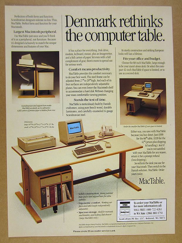 1986 mactable apple macintosh