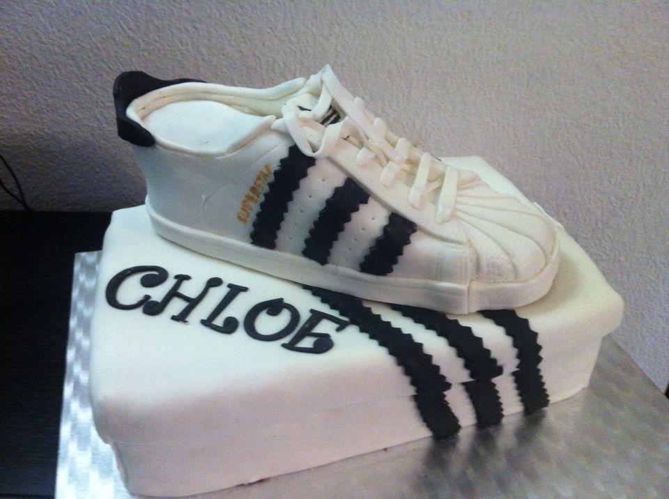 Adidas shoes cake   Frenchycake   Gateau chaussure