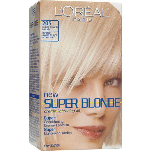 L Oreal Paris Super Blonde Creme Lightening Kit Walmart Com