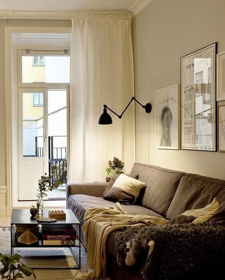 inspiracion-deco-piso-escandinavo-decoracion-espacios-pequenos - decoracion de espacios pequeos