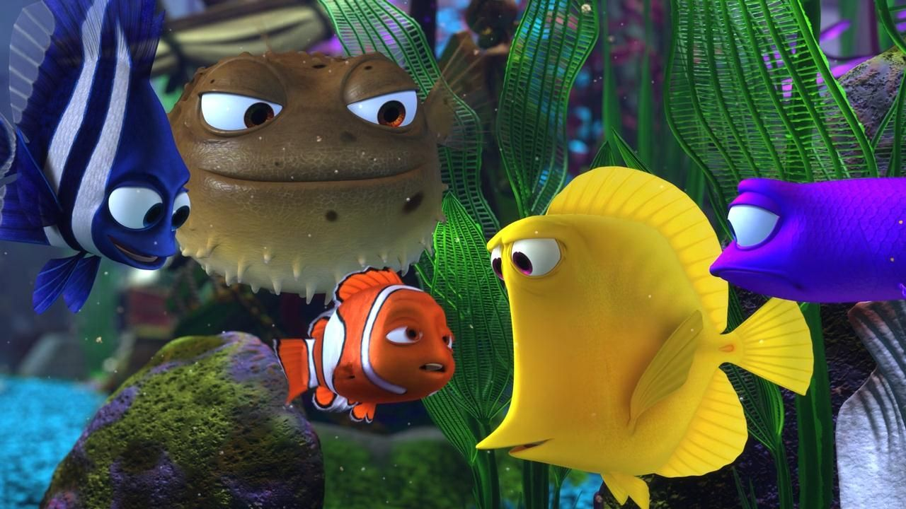 Finding Nemo Wallpapers Anime New Tab