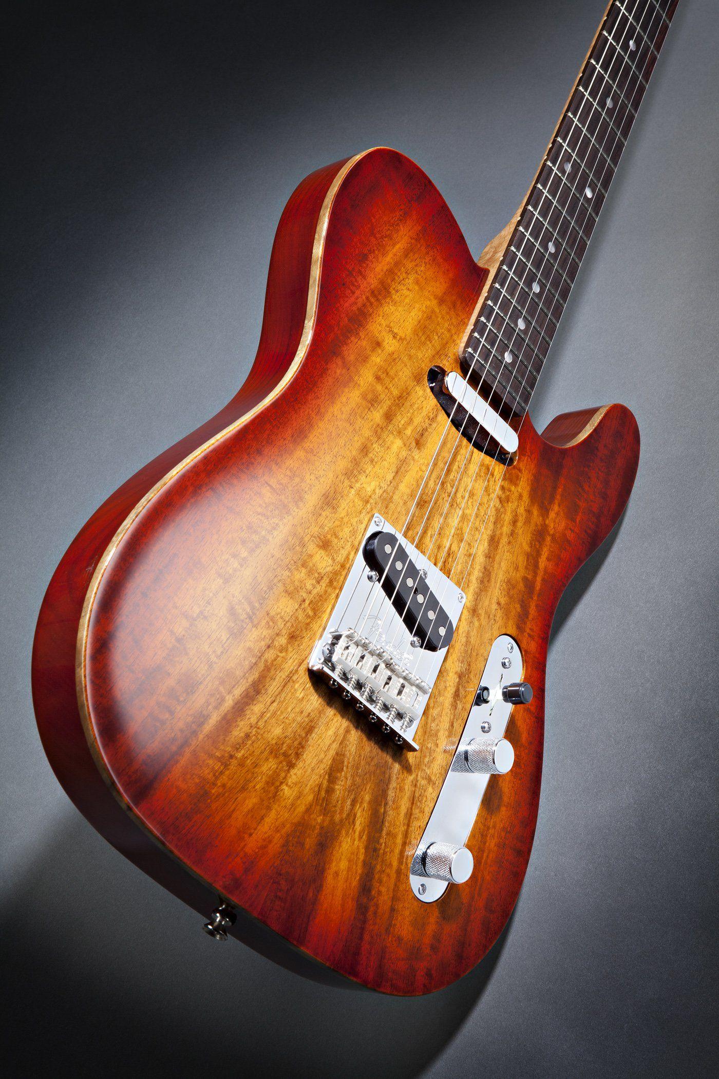 Fender select carved koa top telecaster_up beautyjpg