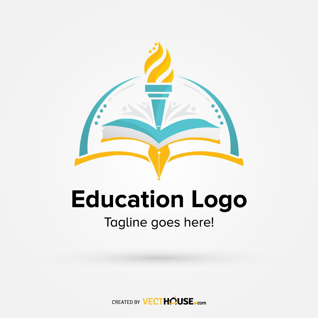 Education Logo Design Vecthouse Education Logo Education Logo