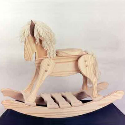 building classic rocking horse plans