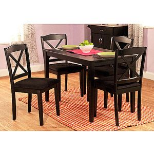 Mason 5 Piece Cross Back Dining Set, Multiple Colors   Walmart.com