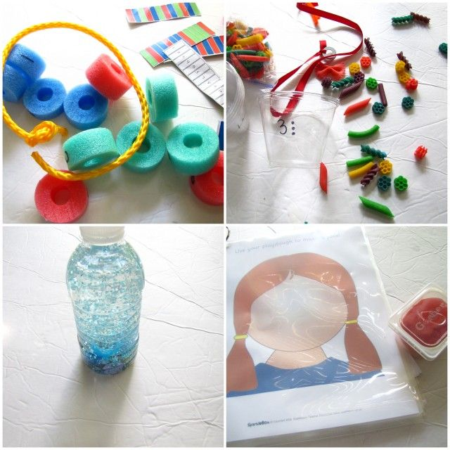 22 busy bag ideas for preschoolers from mama says sew: Busy Bag Swap