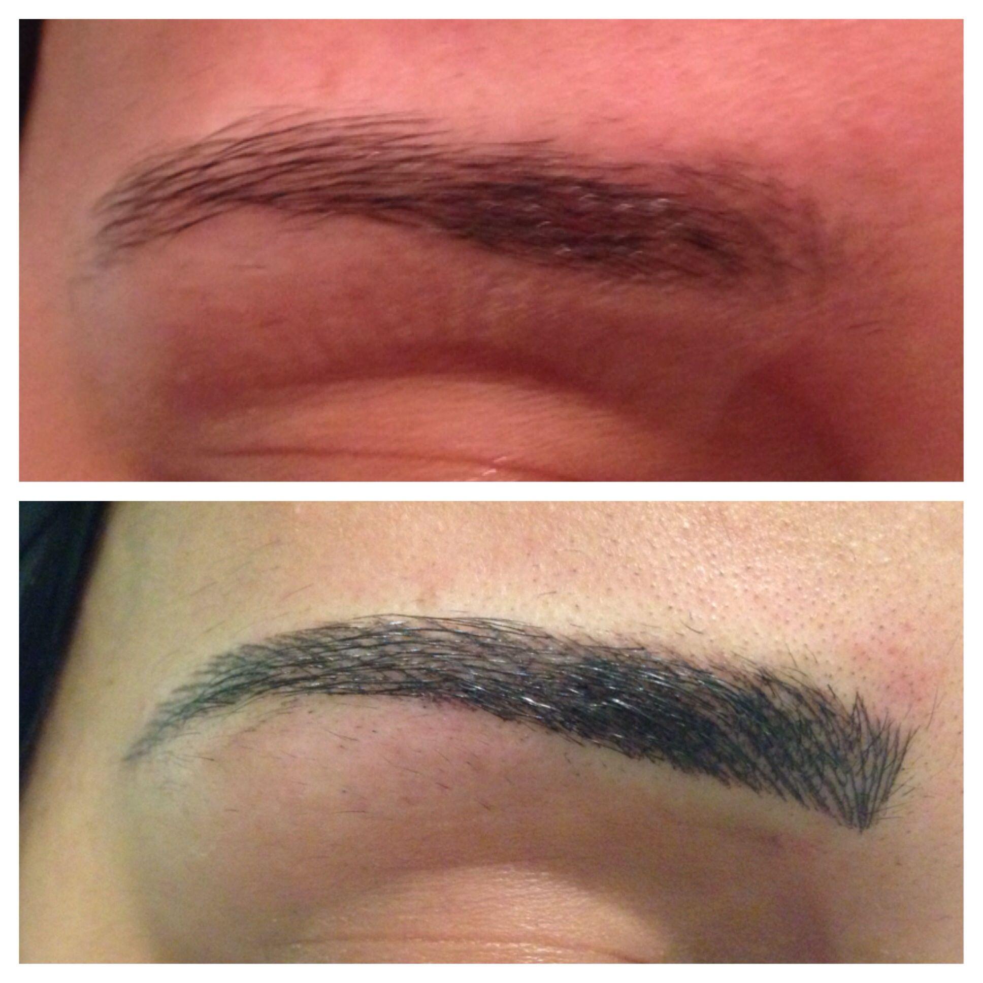 HairStroke brows | hairstroke - Eyebrow tutorial, Perfect ...