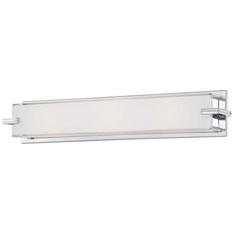 "George Kovacs Bathroom Lighting George Kovacs Cubism Collection 24"" Wide Bath Wall Light  Cubism ."
