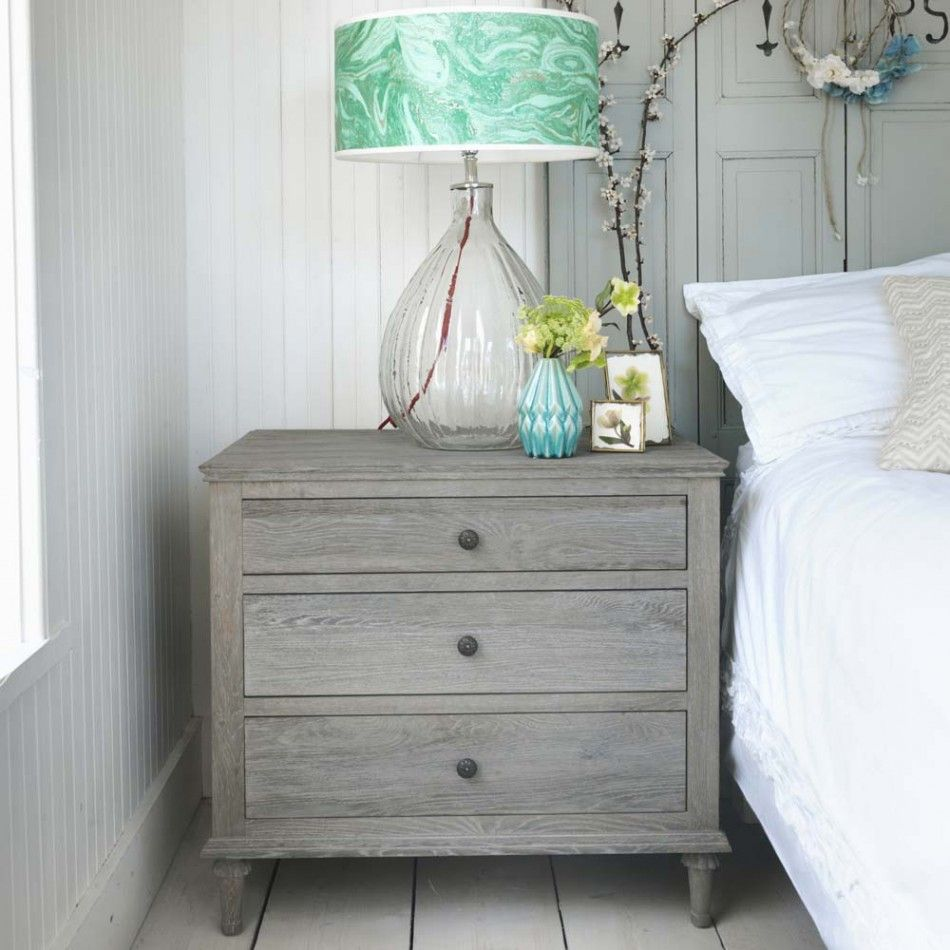 Large Bedroom Chest Of Drawers Darien Extra Large Bedside Table H68cm W745cm D50cm Coming
