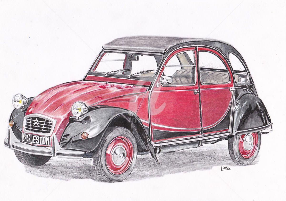 R sultat de recherche d 39 images pour voiture 2 chevaux dessin projets essayer dessin - Dessin voiture mariage ...