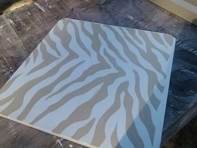 Zebra Table Top Decor