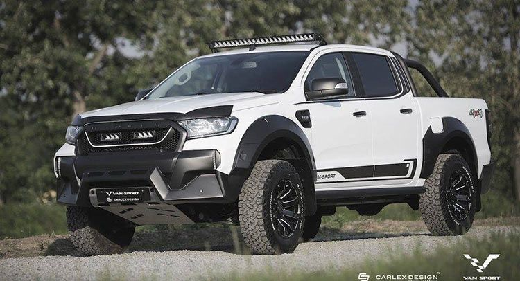 Ford Ranger M Sport Looks Like A Baby Raptor With Images