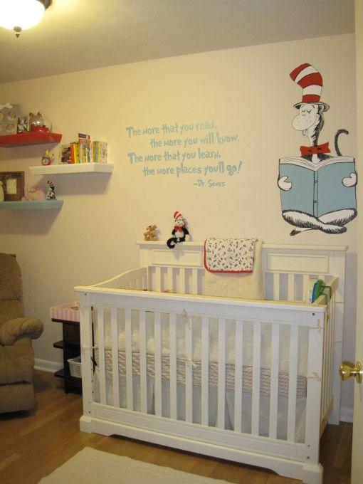 Dr Seuss Nursery Baby Room Shelves