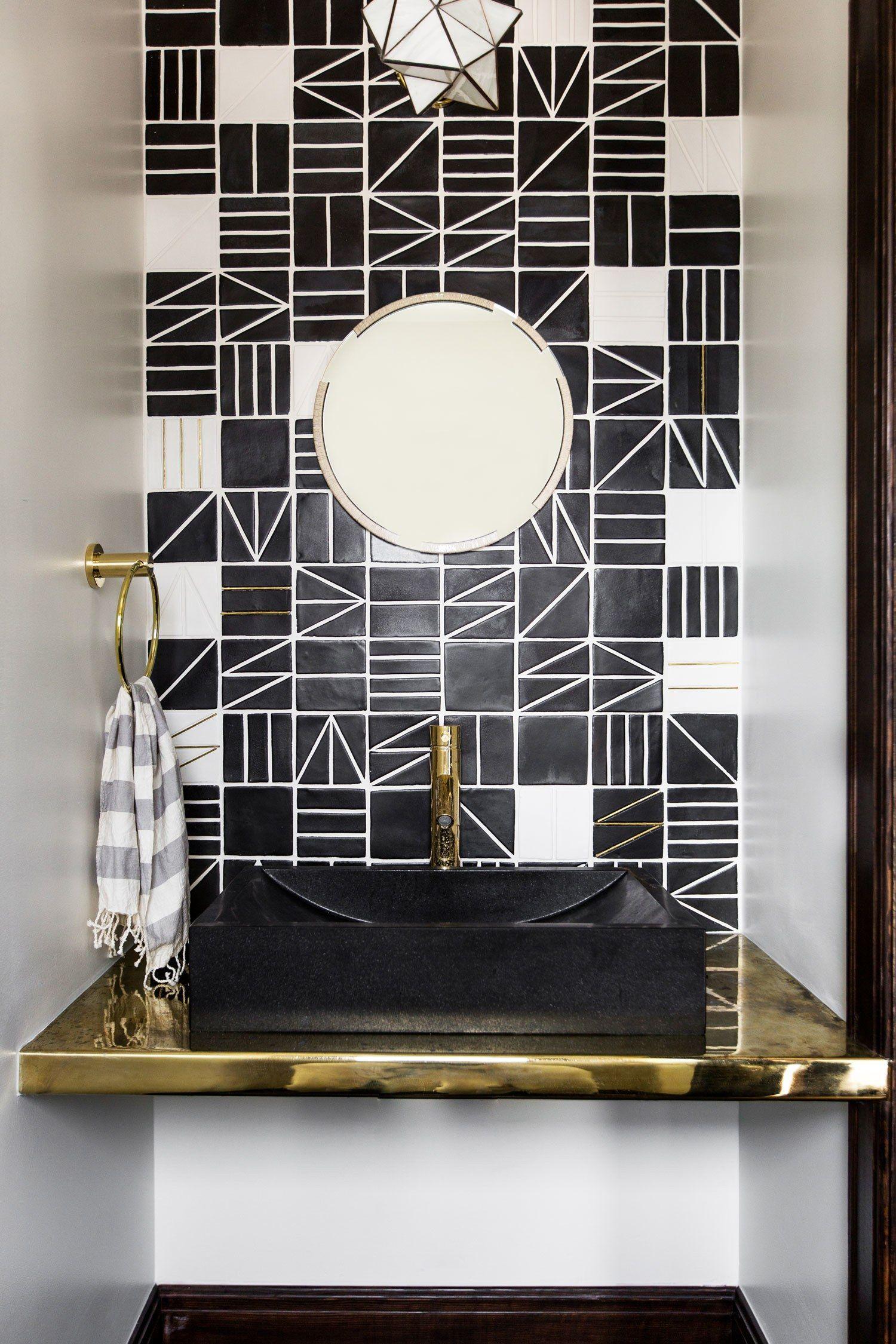 tour a hollywood composer s 1920s l a bungalow bathrooms modern pinterest badezimmer. Black Bedroom Furniture Sets. Home Design Ideas