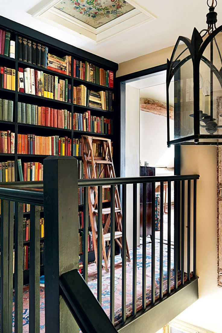 To the ceiling ceiling books and house